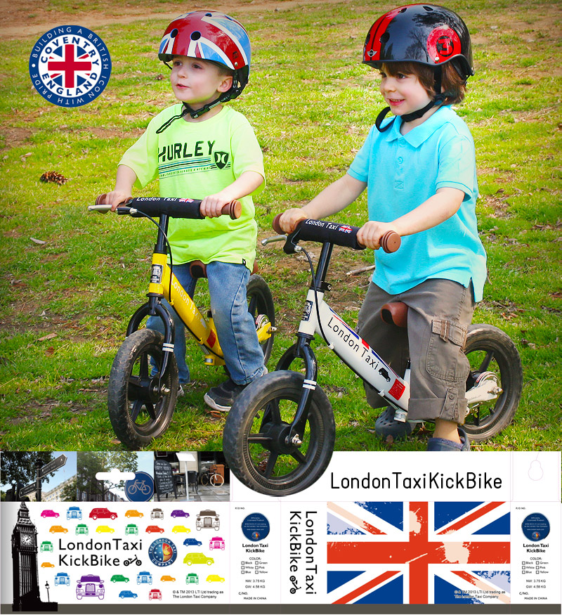 FOLDING CYCLIST: London Taxi Kickbike